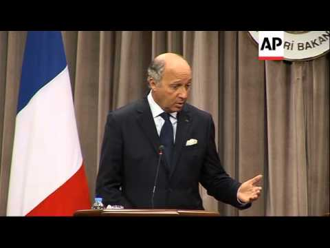 "French FM calls Assad regime ""criminal"" after his tour of the region"