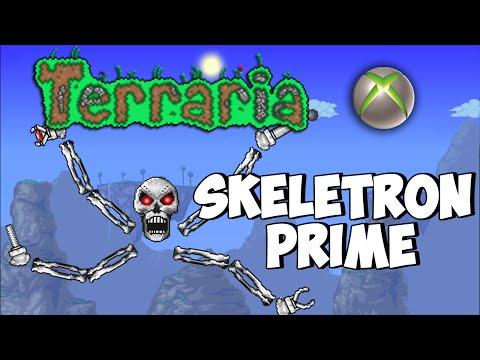 how to kill skeletron prime in terraria xbox
