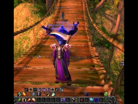 World of Warcraft Leveling Void Elf Warlock