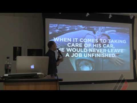 Creative Director Matt Sullivan Visiting Artist Lecture at American Academy of Art