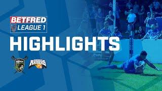 Highlights | West Wales Raiders v Barrow Raiders