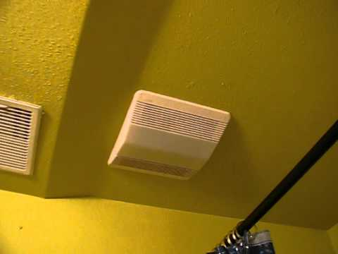 Down Stairs Nutone Bathroom Exhaust Fan