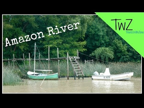 The Amazon River in Tigre, South America