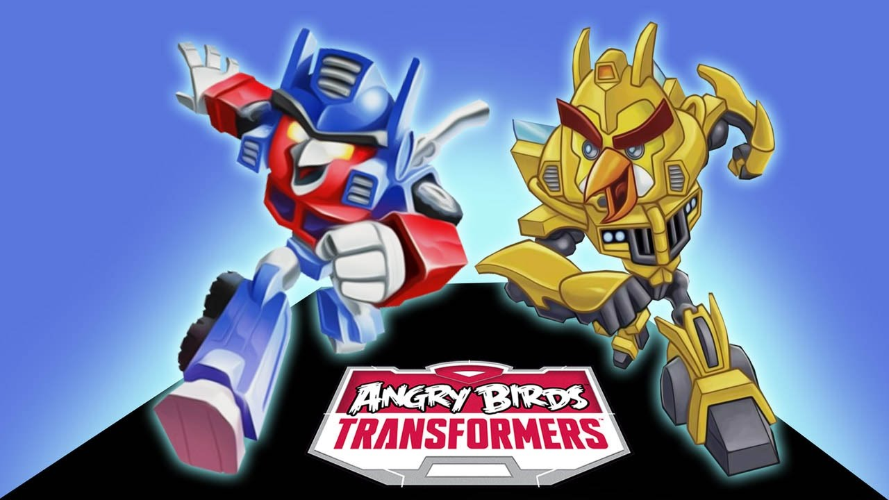 ANGRY BIRDS TRANSFORMERS Optimus
