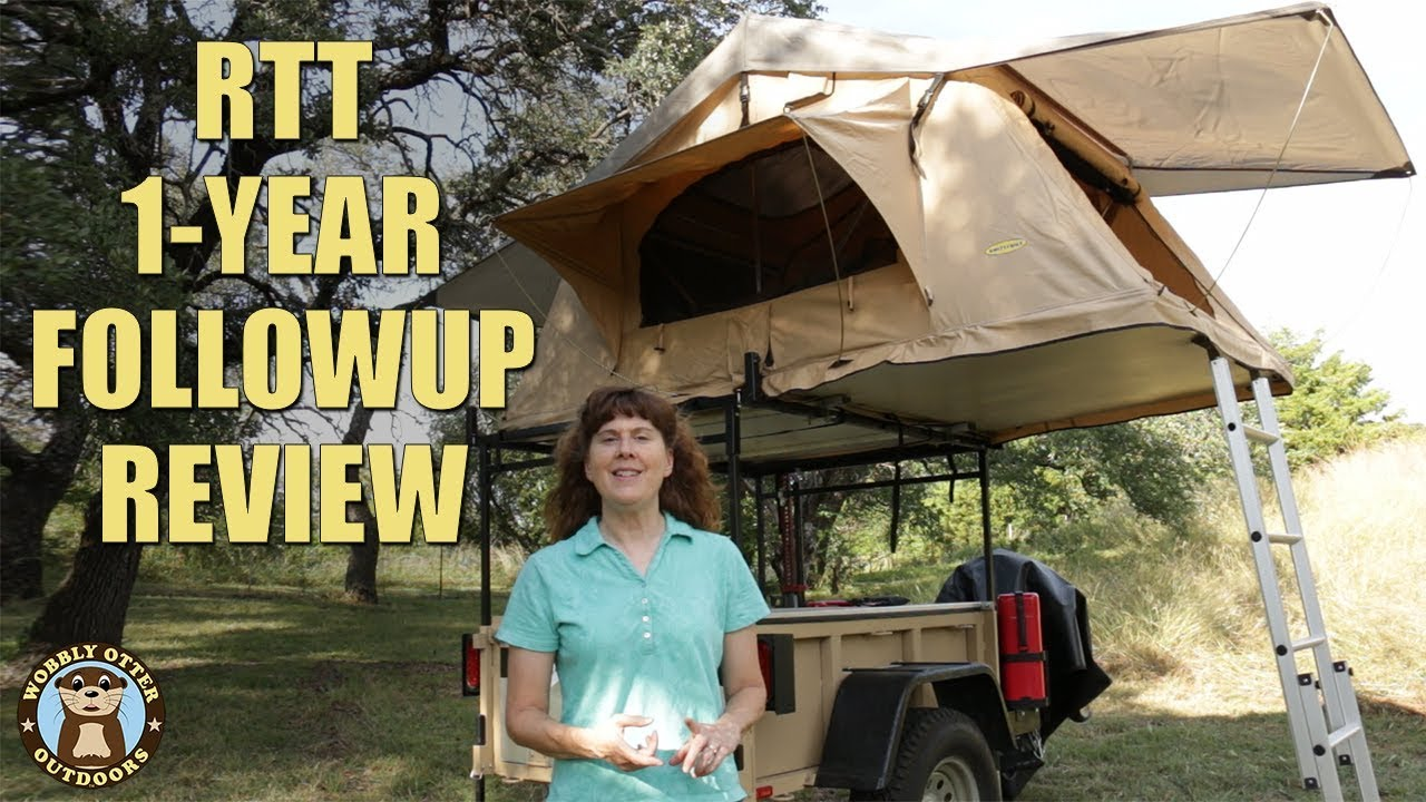 1 Year Review Smittybilt Overlander Roof Top Tent Youtube