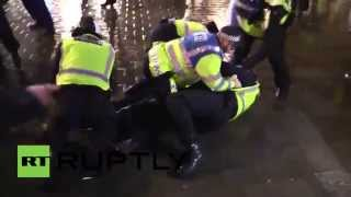 UK: At least 50 arrested at Anonymous Million Mask March