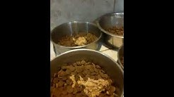 Preparing A Dog's Dinner By Soaking Their Food