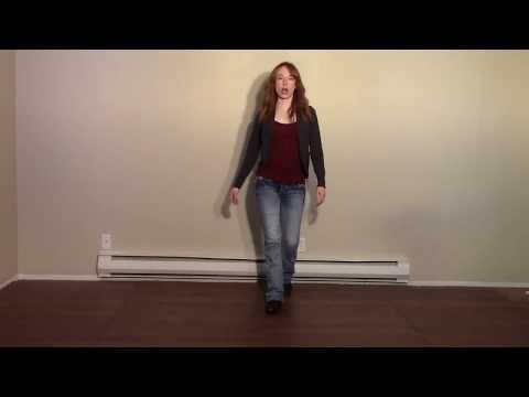 Country Girl Shake (Line Dance) - Demo & Teach