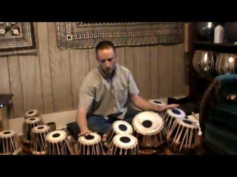 Tabla Tarang, Melodic Drums, played by Andy Skellenger