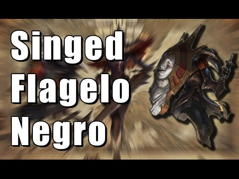 Singed Flagelo Negro - League of Legends (Completo BR)