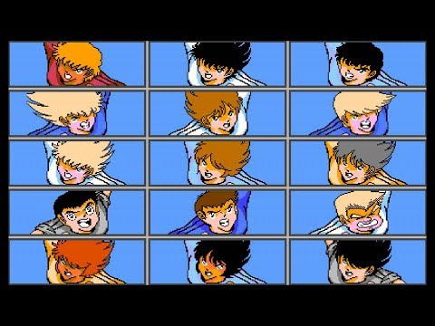 Captain Tsubasa 2 - Mexico/Italy/Holland (Low Level - Inf Energy - No Lose)