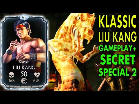 MKX Mobile 1.13 Update. DIAMOND KLASSIC LIU KANG Review! Strongest Diamond Character???