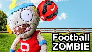 Plants vs Zombies Plush Toys: Zombies with football | MOO Toy Story