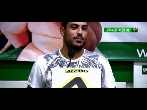 Franjiverdes.com - Temporada 2011-2012 - Presentación Paco Borrego