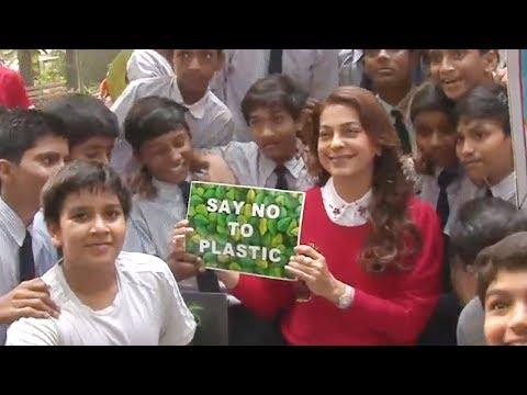 Juhi Chawla Joins Initiative Socho Alag With Maharashtra's Move To Ban Plastic Bag