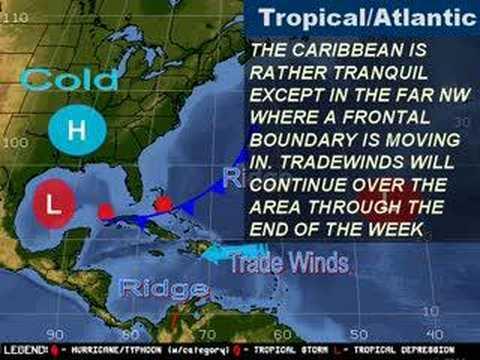 jamaican weather forecast - YouTube
