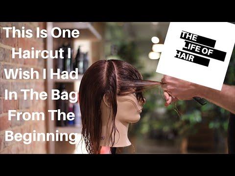 Shag / Mullet Haircut Vidal Sassoon - Long Graduation -