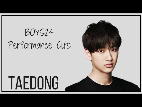 BOYS24 Performance Cut - KIM TAEDONG