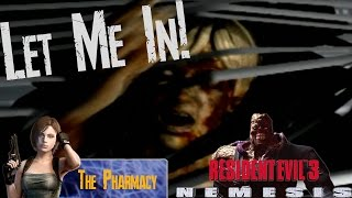 How To Get Oil Additive [Pharmacy] - Resident Evil 3 [#04] [LongPlay] [Hard Mode] [Barry Ending]