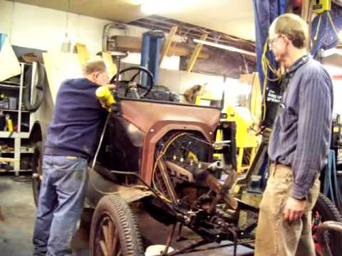 1915 Ford Model T First Start