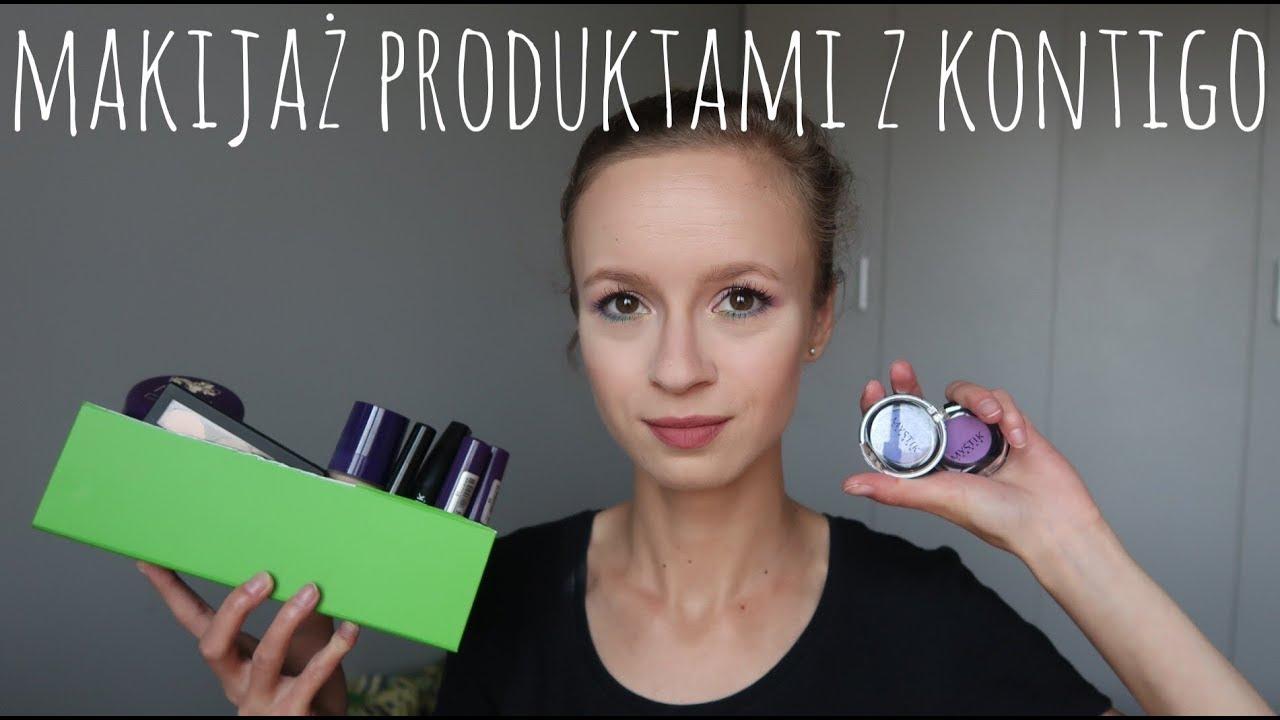 Pełny makijaż produktami dostępnymi wyłącznie w Kontigo.