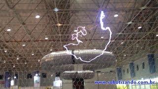Bobina de Tesla 700 KV (700.000 Volts)
