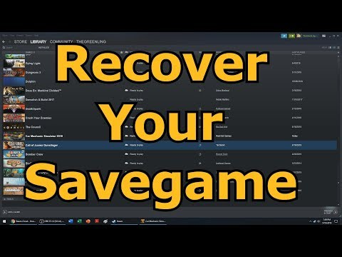 How To Reload Or Recover Steam Cloud Saves (Quick & Easy)