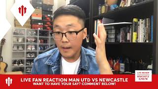 Full Time Reaction! Manchester United 3-2 Newcastle United