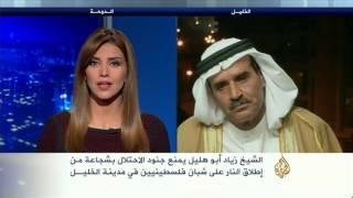 زياد أبو هليل يكشف للجزيرة سبب سقوطه في التسجيل الذي أظهره وهو يمنع جنود الاحتلال من إطلاق النار