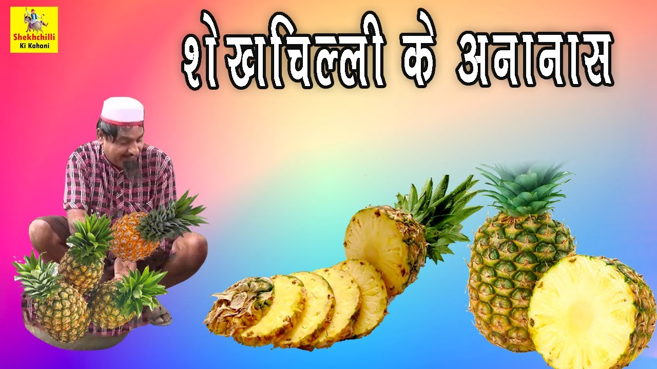 "#Shekhchilli PINEAPPLE WALA |""शेखचिल्ली के अनानास ""Dehati Hindi Comedy | shekhchilli Comedy Video"