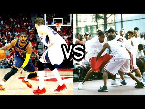 NBA VS Streetball Highlights Mix