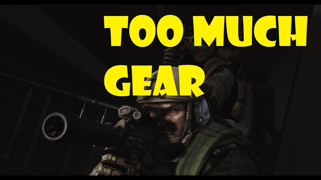 Too Much Gear - Escape from Tarkov