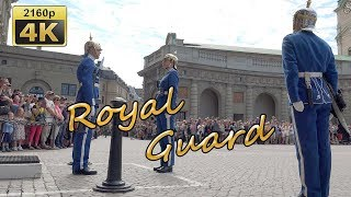 Changing of the Guard in Stockholm - Sweden 4K Travel Channel