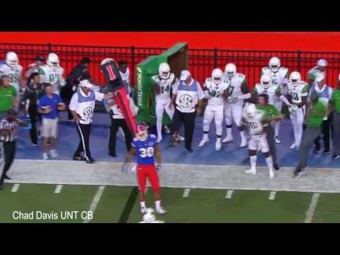 Chad Davis UNT CB - Ultimate Career Highlights - Gotcha Covered
