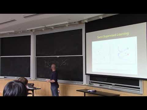 Shape Analysis (spring 2019), Lecture 16: Laplacian In ML; Exterior Algebra