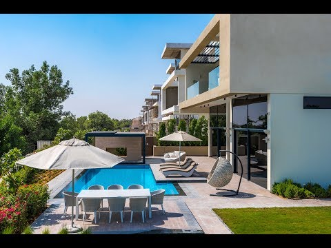 Contemporary Hillside Villa, Jumeirah Golf Estates, Dubai, U