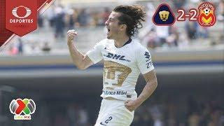 Pumas rescata el empate con Morelia en CU | Pumas 2 - 2 Morelia | Cl 2019 - J 10 | Televisa Deportes