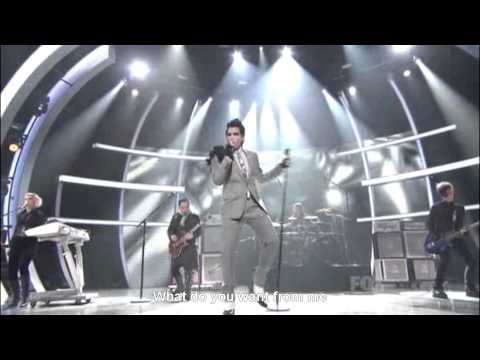 So You Think You Can Dance - Adam Lambert sings