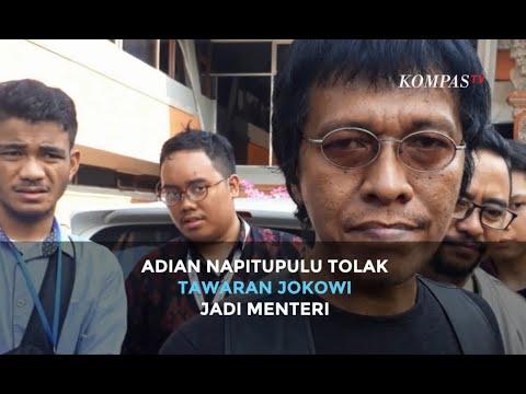 Politisi PDI-P Sekaligus Aktivis 98 Adian Napitupulu Tolak Tawaran Jokowi Jadi Menteri