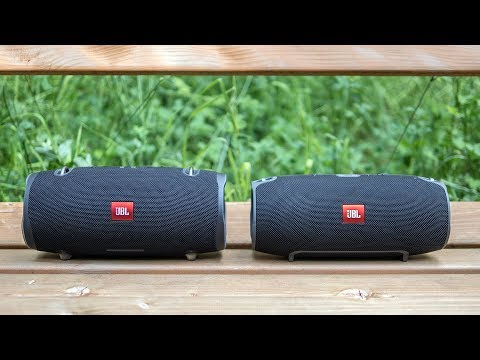 JBL Xtreme 2 vs JBL Xtreme - outdoor soundcheck (which one is louder?)