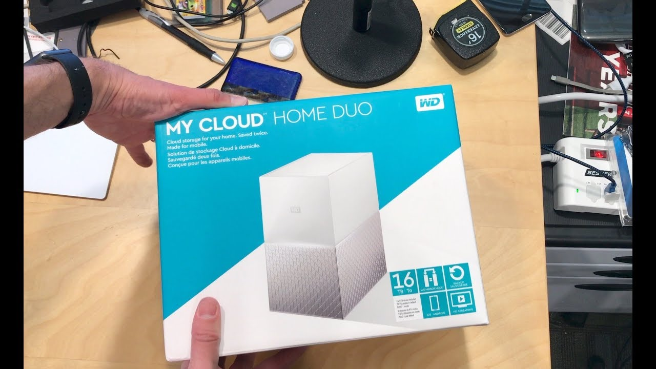 wd my cloud duo