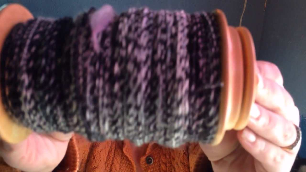 How To Spin A Marled Yarn Youtube