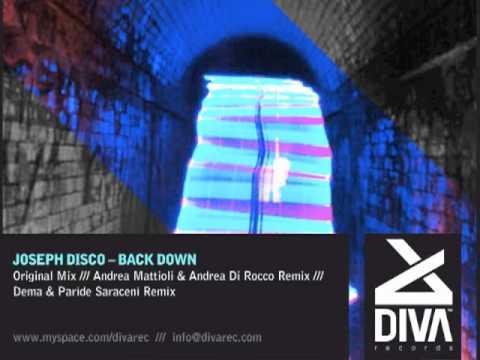 Joseph Disco - Back Down ( Diva Records )