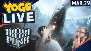 Lewis & Tom! - Frostpunk!  - 29th March 2018