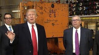 Trump blames Democrats for looming shutdown