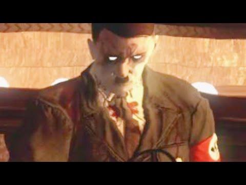 """ZOMBIE HITLER BOSS! DAS HERRENHAUS """"Call of Duty Zombies"""" Custom Maps Gameplay"""