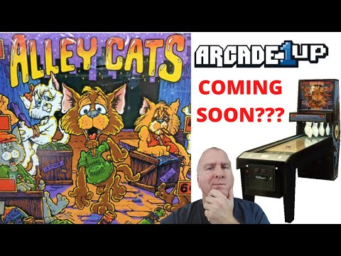 Arcade1up: Williams Alley Cats Coming Soon??? from PsykoGamer