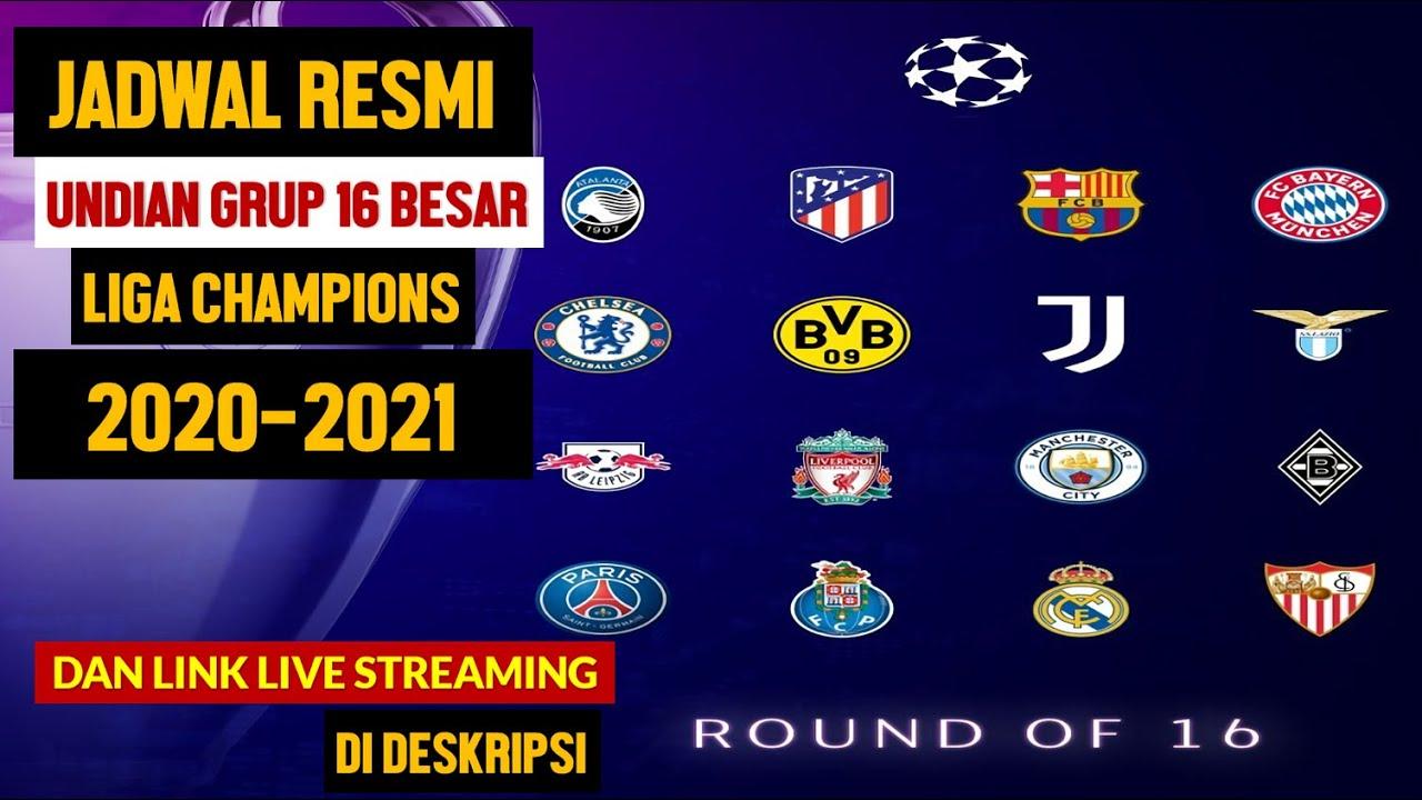 Jadwal 16 Besar Liga Champion / Jadwal 16 Besar Liga ...