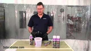 5 STAR XTREME Autobody Products® Gun Cleaners