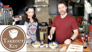Takeout Kit Unboxing, Cooking, and Taste Test Thai Curry Noodles (Khao Soi)